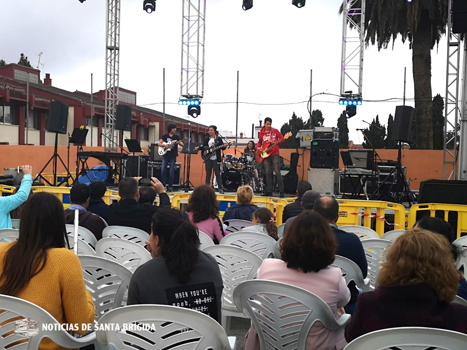 Actuación aula música moderna de la Escuela Municipal de Música de SB – 10 junio 2019