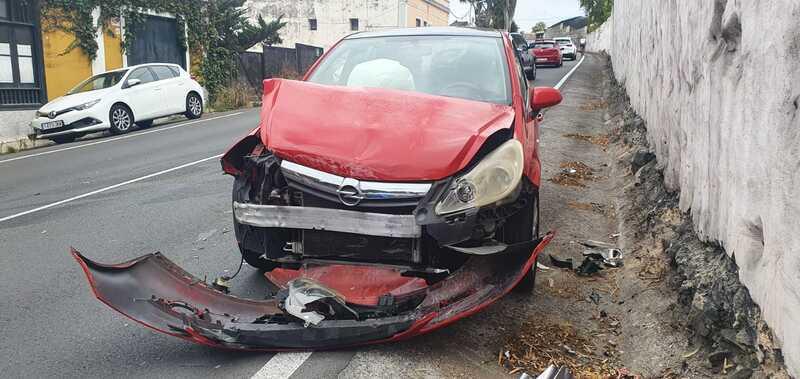 Herido leve tras sufrir un accidente en Santa Brígida