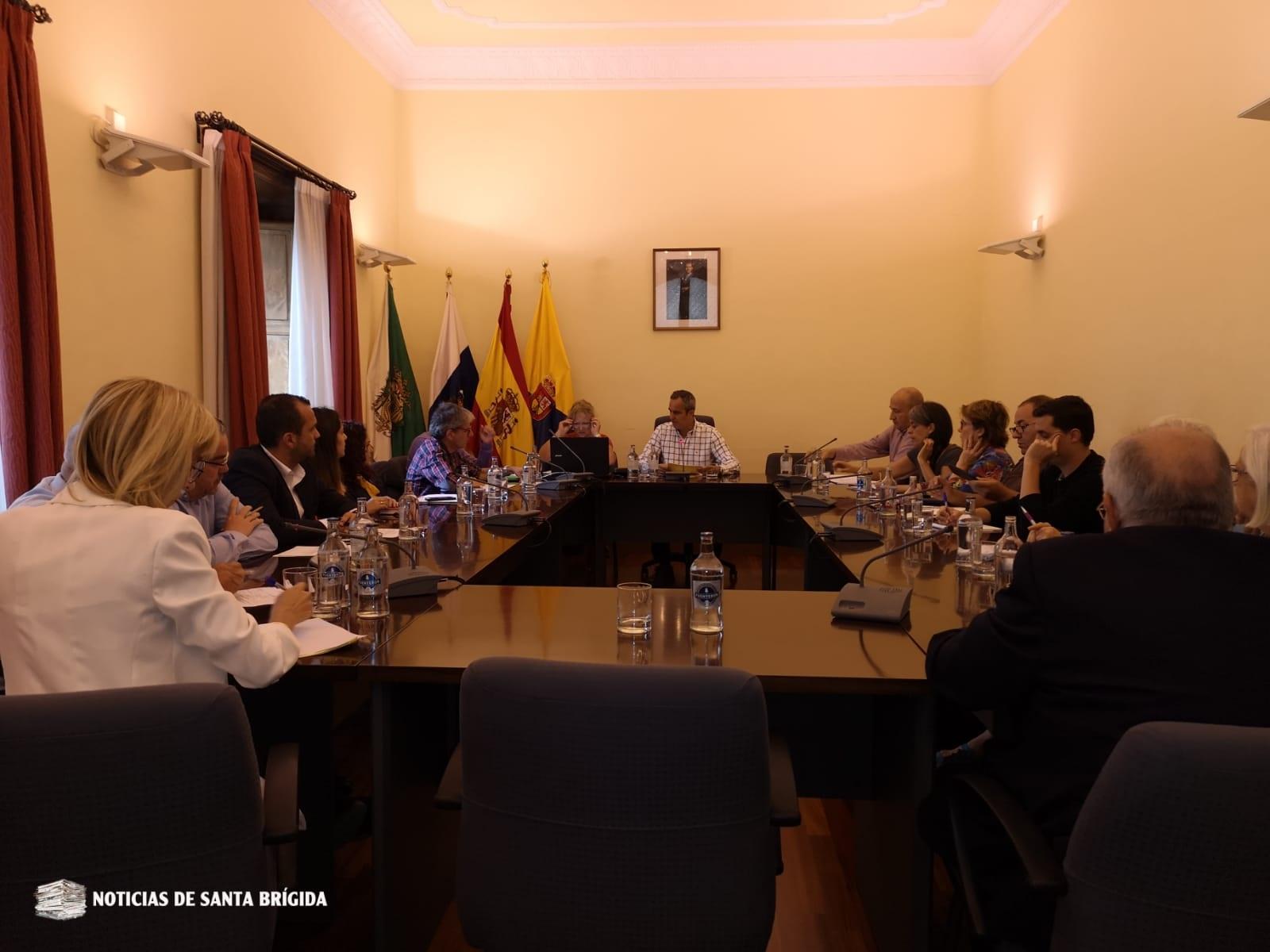 Pleno extraordinario Santa Brígida – 4 de julio de 2019