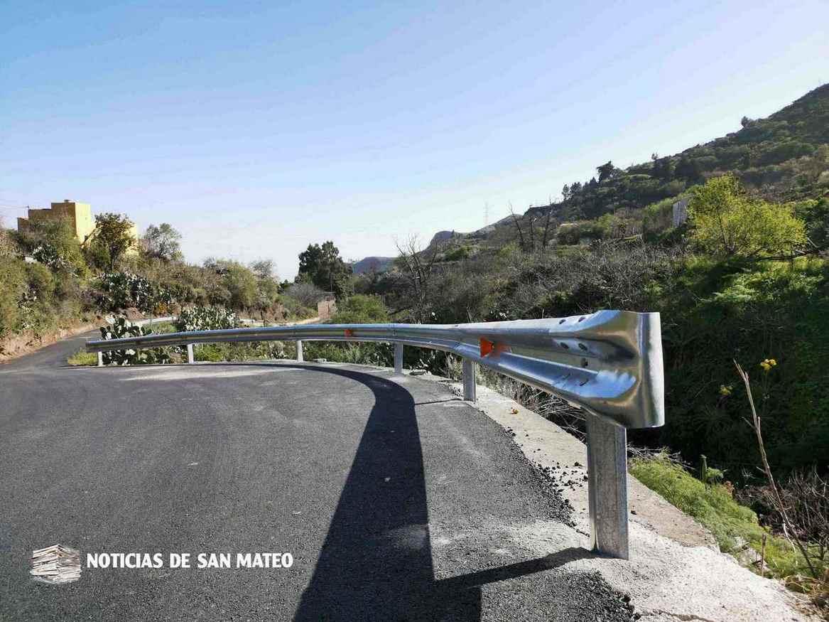Valla instalada en Las Arenillas – Lechucilla