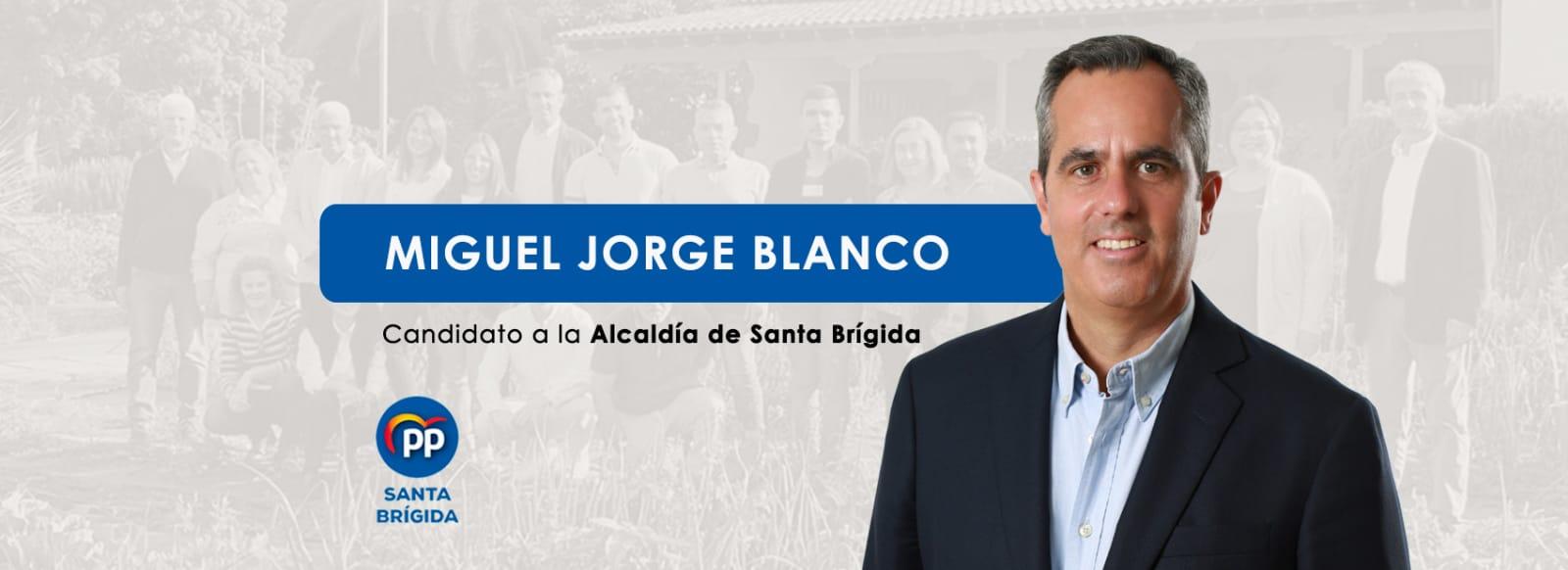 """Miguel Jorge Blanco: """"Mi compromiso con Santa Brígida es absoluto"""""""