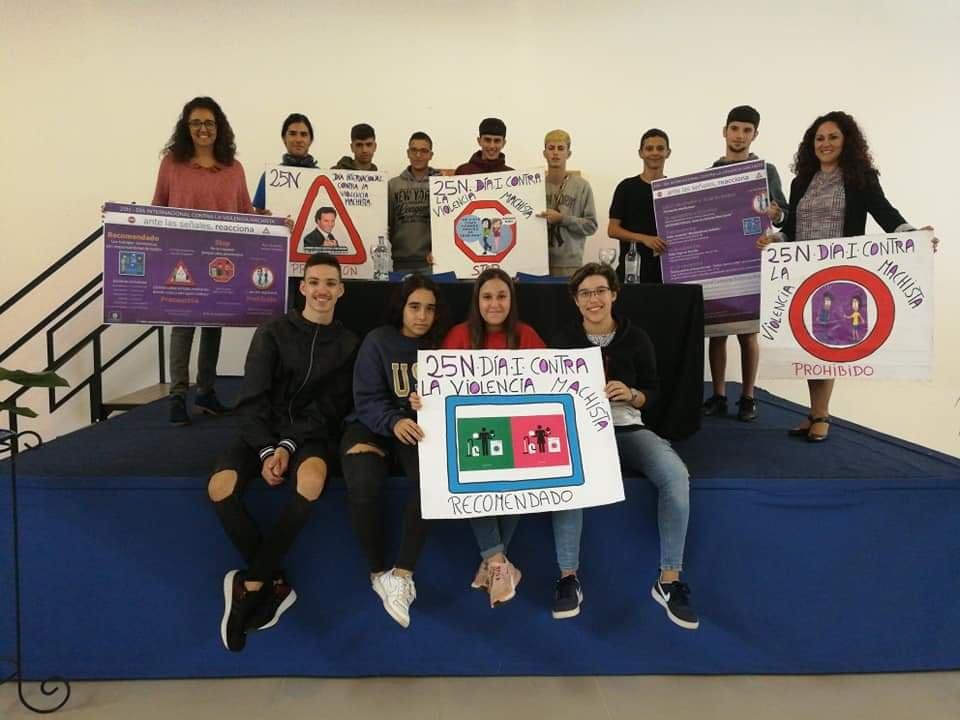Santa Brígida presenta una campaña contra la violencia hacia las mujeres