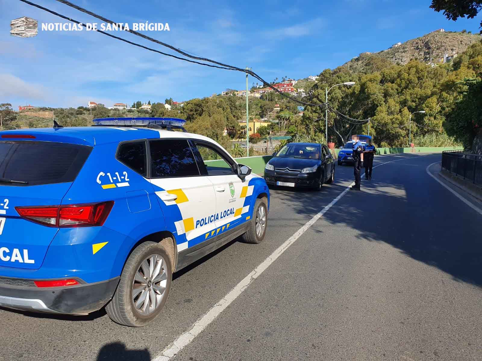 Nuevas denuncias en Santa Brígida por saltarse el confinamiento