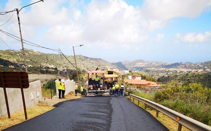obras asfaltado lomo espino