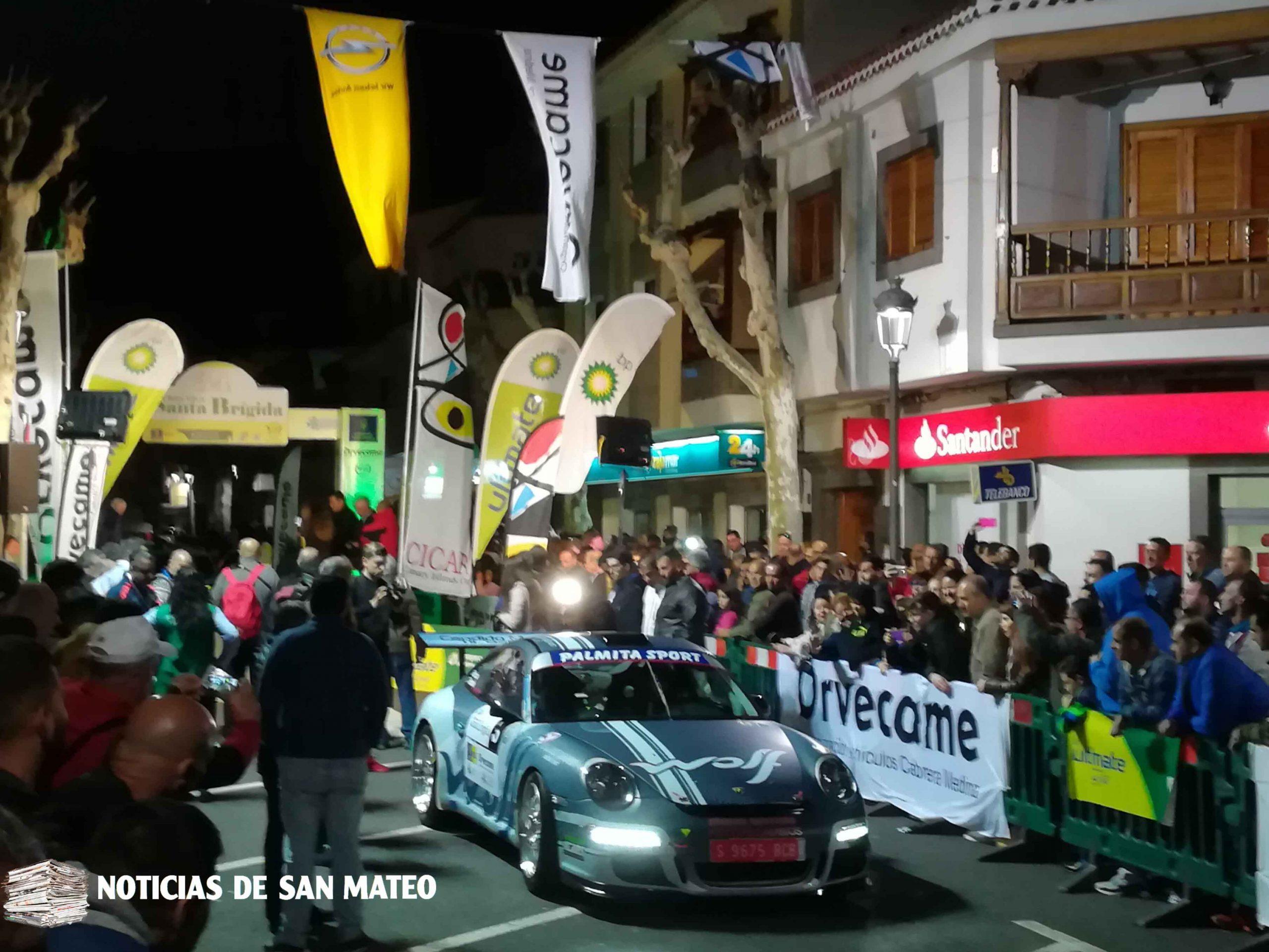 Abiertas las inscripciones para el Rallye Villa de Santa Brígida