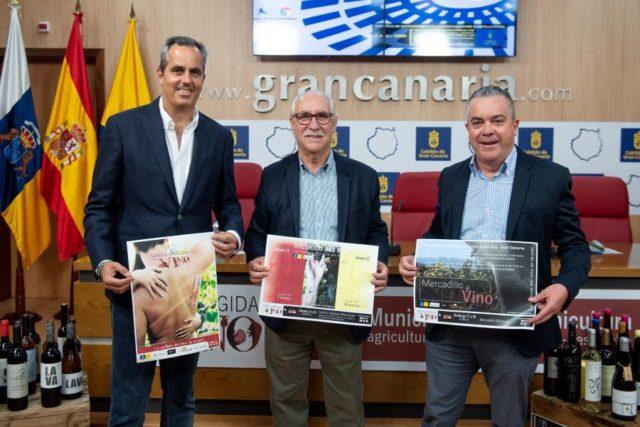 """La Villa celebra una nueva edición de """"Santa Brígida con Vino"""""""